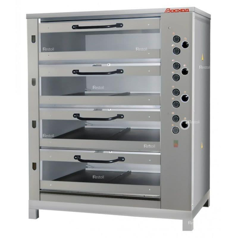 Хлебопекарная печь Восход ХПЭ-750/4 С в обрешетке