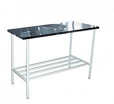 Медстальконструкция Стол инструментальный на металлическом каркасе МСК-677.150.01