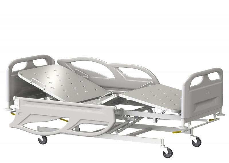 Медстальконструкция Кровать медицинская функциональная трёхсекционная КМФТ145-МСК (код МСК-4145)