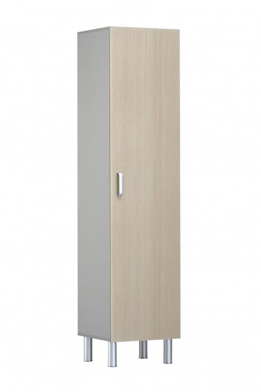Медстальконструкция Шкаф медицинский для белья и одежды ШМБО-МСК одностворчатый (код МД-5507.02)