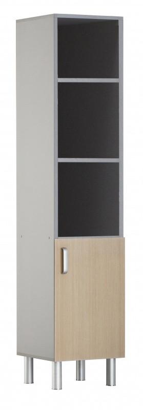 Медстальконструкция Шкаф медицинский для хранения документации ШМД-МСК (код МД-5509)