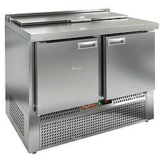 Стол холодильный для салатов (саладетта) Hicold SLE1-11GN 5xGN1/3