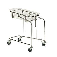 Медстальконструкция Кровать-тележка для новорожденных МСК-5130