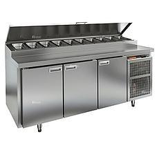Стол холодильный для пиццы Hicold PZ2-111/GN (11xGN1/6)