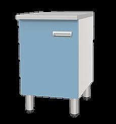 Медстальконструкция Стол лабораторный однотумбовый с дверкой СЛ-01-«МСК» (код СЛ-01-101)