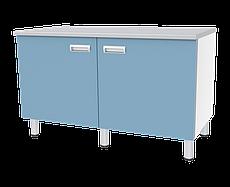 Медстальконструкция Стол двухтумбовый с дверкой и полкой СЛ-04-«МСК» (код СЛ-04-109)