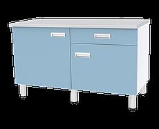 Медстальконструкция Стол двухтумбовый с дверкой, полкой и ящиком СЛ-04-«МСК» (код СЛ-04-110)