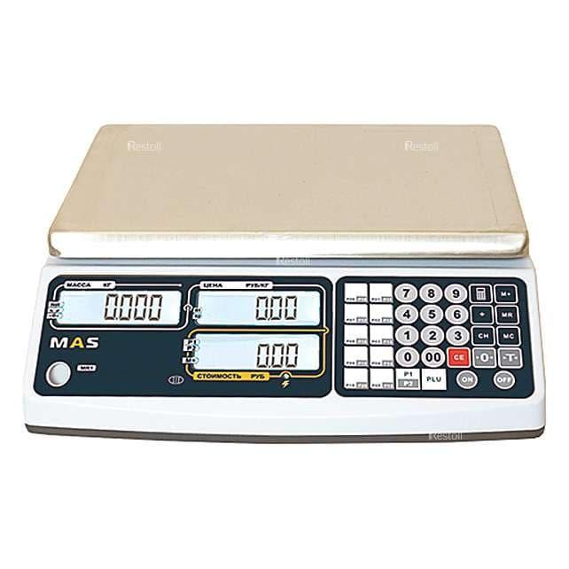 Весы торговые MAS MR1-06