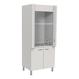 Шкафы вытяжные с подводом воды