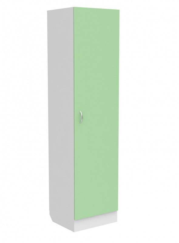 Медстальконструкция Шкаф медицинский для одежды МД-511