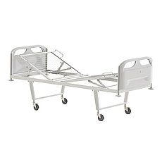 Медстальконструкция Кровать медицинская функциональная двухсекционная КФ2-01-МСК (код МСК-102П)