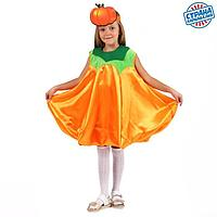Карнавальный костюм'Тыква'платье,маска,р-р30,р98-116