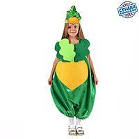 Карнавальный костюм'Репка'комбинезон,маска,р-р34,р122-134