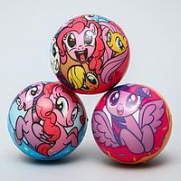 Мягкий мяч 'Друзья' My Little Pony 6,3см, микс (комплект из 12 шт.)