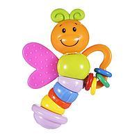 Погремушка - прорезыватель 'Бабочка Мия', 15 см