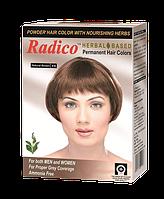 Краска для волос на основе натуральных трав Коричневый, 10 гр, Radico