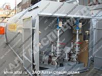 Горизонтальные топливозаправочные пункты с электрическим насосом, объемом от 5000 до 50 000 л
