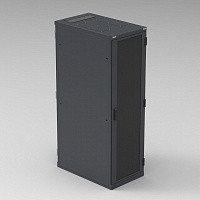 """Шкаф серверный 19"""" - 42U - 800x1000 мм - в плоской упаковке - с боковыми панелями"""