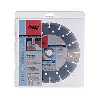 FUBAG Алмазный отрезной диск Beton Pro D230 мм/ 22.2 мм по бетону