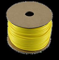 Трубка кембрик ПВХ 1² (желтый)