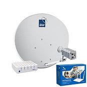 Оборудование для спутникового интернета от Триколор