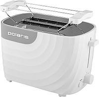 Тостер PET 0720 электрич., (POLARIS) , белый-серый