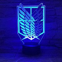 Светильник Разведкорпус - Атака Титанов