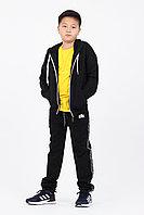 Подростковый, детский спортивный костюм. Цвет: Черный