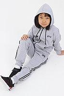 Подростковый, детский спортивный костюм. Цвет: Серый Меланж