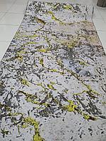 Коврик абстрактный метражом в рулонах с разливами, ковер в рулоне
