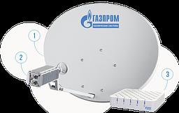 Оборудование для спутникового интернета от  Газпром