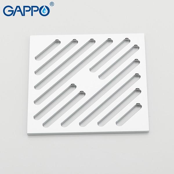 Душевой трап Gappo G81050-3 (10*10 см)