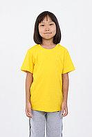 Детская футболка из хлопка. Цвет: Желтый