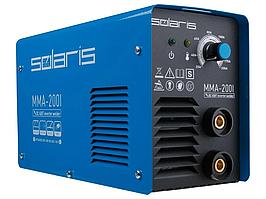 Инвертор сварочный SOLARIS MMA-200I (230В; 20-200 А; 70В; электроды диам. 1.6-4.0 мм; вес 3.4 кг) (MMA-200I) П