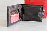 Мужское портмоне из натуральной кожи с тиснением под крокодила L.Caoberg, фото 9