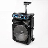 Портативная колонка loud SZ-1214 караоке - чемодан