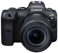 Цифровой фотоаппарат Canon EOS R6 Kit (RF 24-105mm f/4-7.1 IS STM)