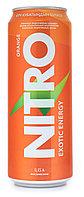 Энергетический напиток NITRO апельсин 450 мл (8 шт в упаковке)