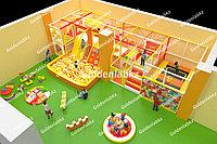 Игровые лабиринты от Казахстанского производителя! Детские игровые лабиринты, батуты, игровые комнаты под ключ