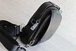 Мужская кожаная сумка барсетка через плечо, фото 3