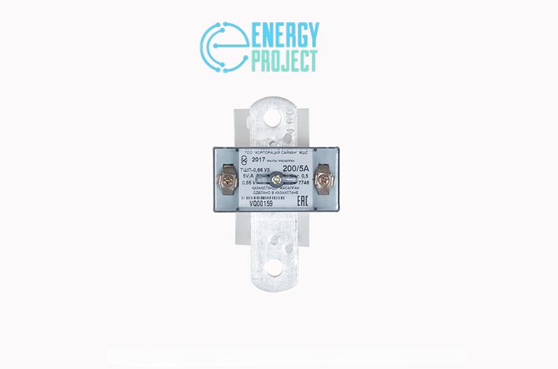 Трансформатор тока ТШП-0,66 У3 (200-5А)