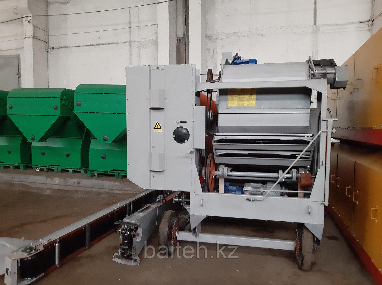 Зерноочистительная самопередвижная машина вторичной очистки МС-4,5М