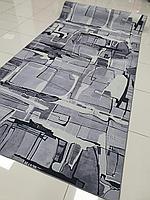 Коврик метражом в рулонах абстрактный, ковер в рулоне 2м ширина