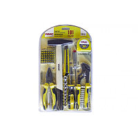 """WMC tools Набор инструментов 101пр.1/4""""(6гр)(5-13мм,шарнирно-губцевый, биты,расходник), в блистере WMC TOOLS"""
