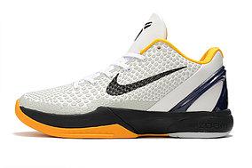"Баскетбольные кроссовки Nike Kobe Protro VI (6) ""White\Black"""
