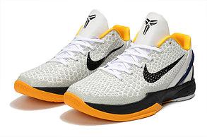 "Баскетбольные кроссовки Nike Kobe Protro VI (6) ""White\Black"", фото 3"