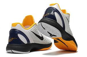 "Баскетбольные кроссовки Nike Kobe Protro VI (6) ""White\Black"", фото 2"