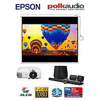 """Комплект «Домашний кинотеатр базовый: Epson и Polk Audio Magnifi Max SR"""", фото 1"""