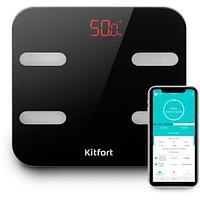 Весы напольные Kitfort KT-806 чёрный