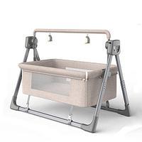 Bala Кроватка-колыбель мобильная с электрическим маятниковым качением, складная.